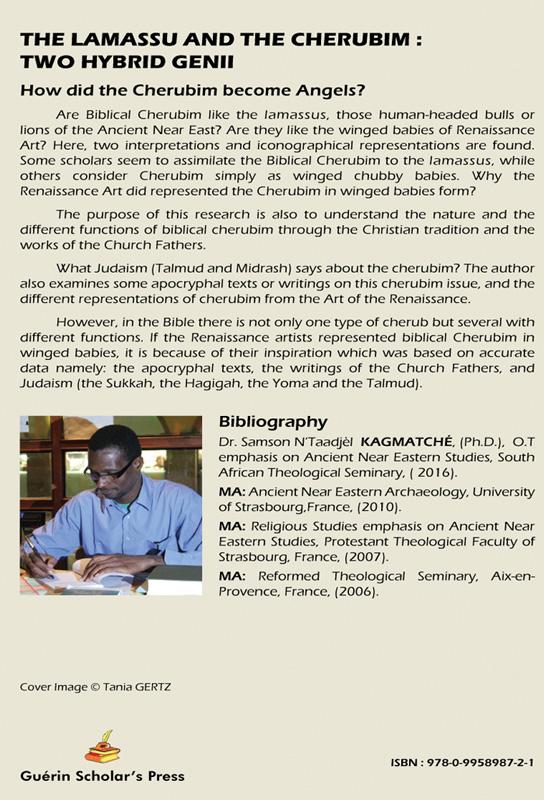 The Lamassu And The Cherubim: Two Hybrid Genii - Dr. Samson N'Taadjèl KAGMATCHÉ